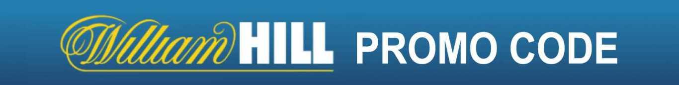 Ekskluzywny kod bonusowy William Hill