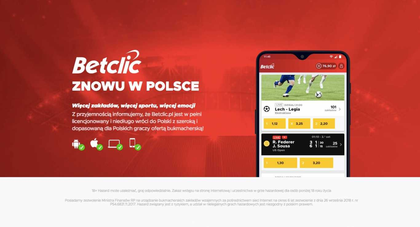 Betclic website